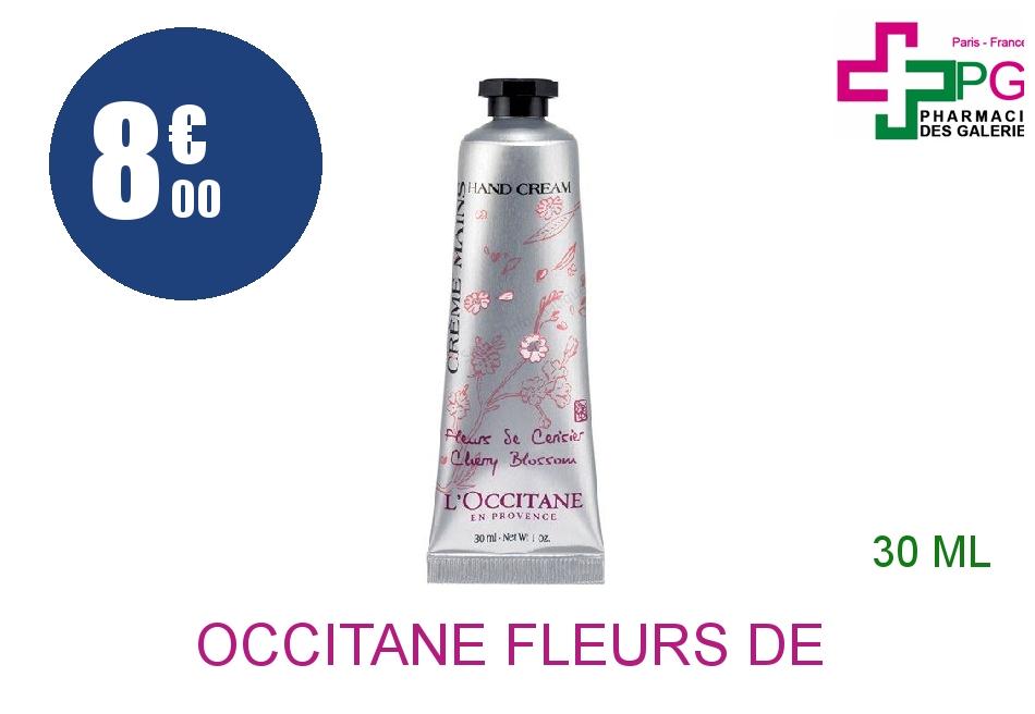 Achetez L'OCCITANE FLEURS DE CERISIER Crème mains Tube de 30ml