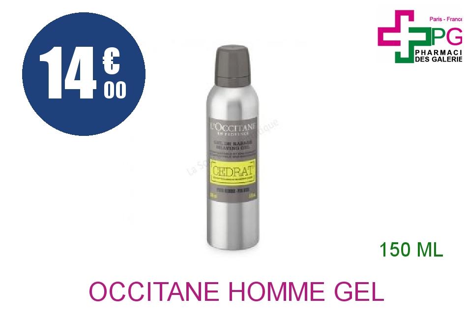 Achetez L'OCCITANE L'HOMME Gel de rasage cédrat Aérosol de 150ml