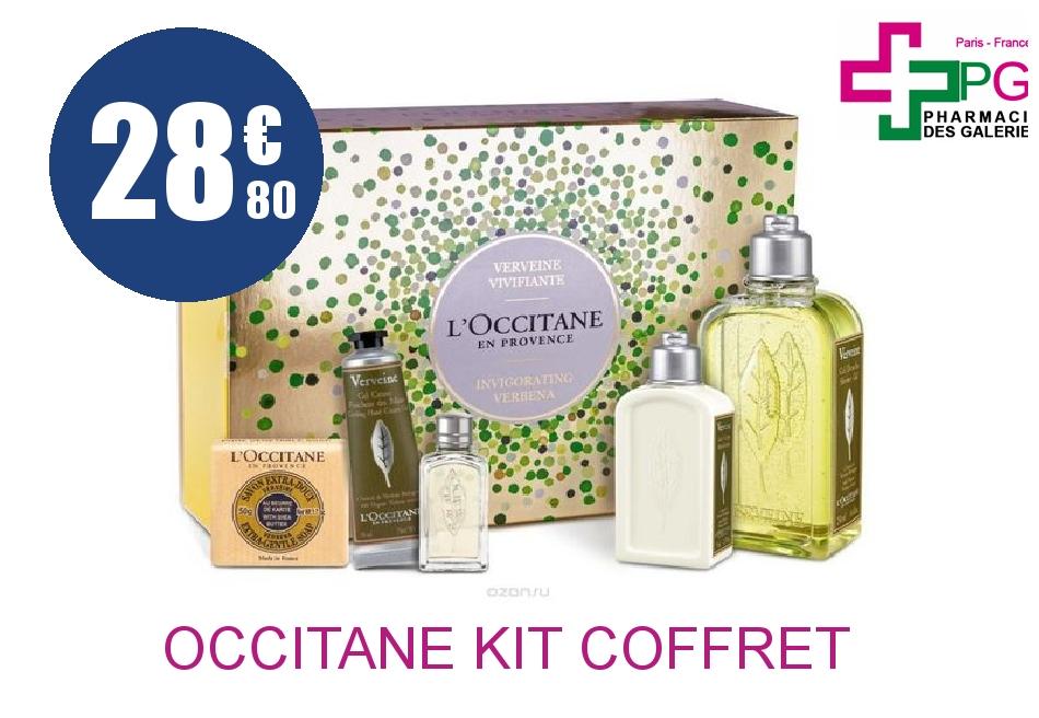 Achetez L'OCCITANE KIT COFFRET VERVEINE
