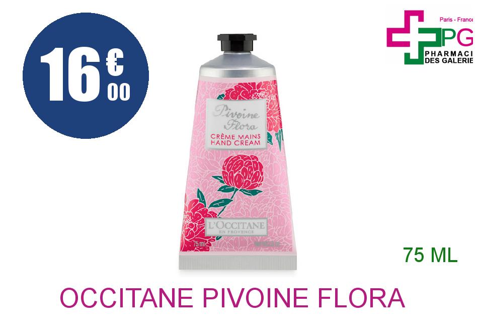Achetez L'OCCITANE PIVOINE FLORA Crème mains Tube de 75ml
