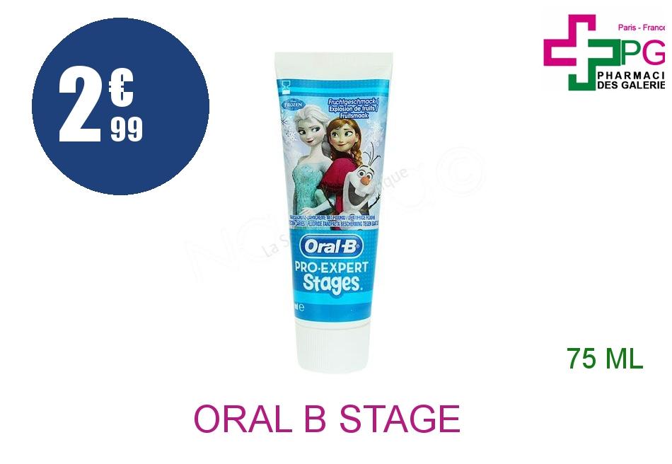 Achetez ORAL B STAGE Dentifrice Reine des Neiges Tube de 75ml