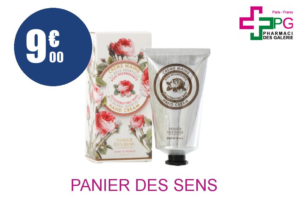 Achetez PANIER DES SENS MAINS 75 ML ROSE