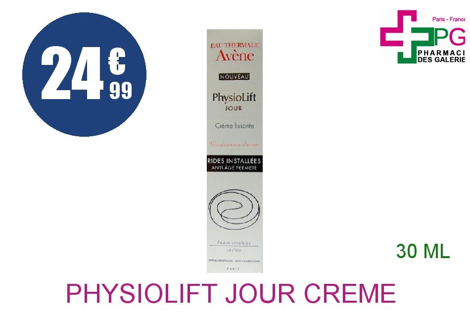 PHYSIOLIFT JOUR Crème lissante Flacon Airless de 30ml