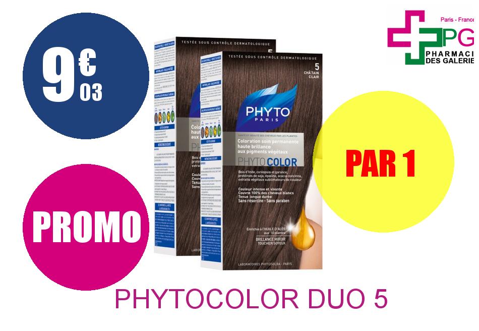 Achetez PHYTOCOLOR DUO 5