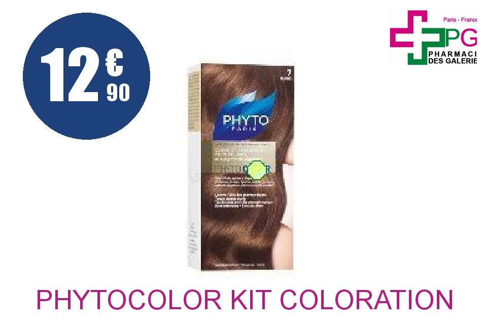 Achetez PHYTOCOLOR Kit coloration 7 blond