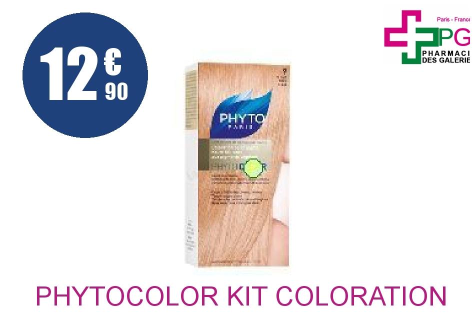 Achetez PHYTOCOLOR Kit coloration 9 blond très clair