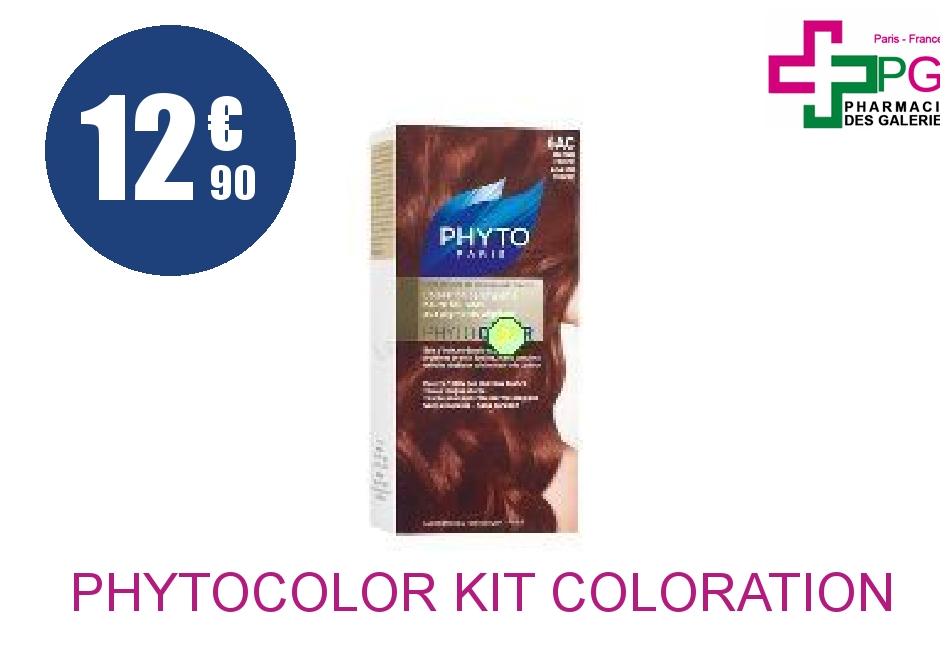 Achetez PHYTOCOLOR Kit coloration 6AC blond foncé acajou cuivré