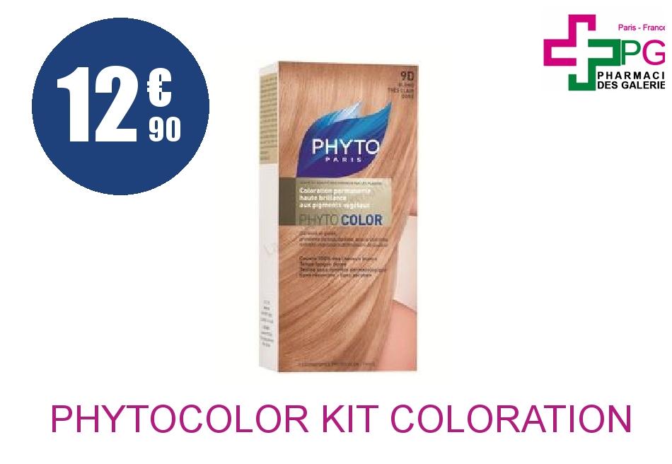 Achetez PHYTOCOLOR Kit coloration 9D blond très clair doré