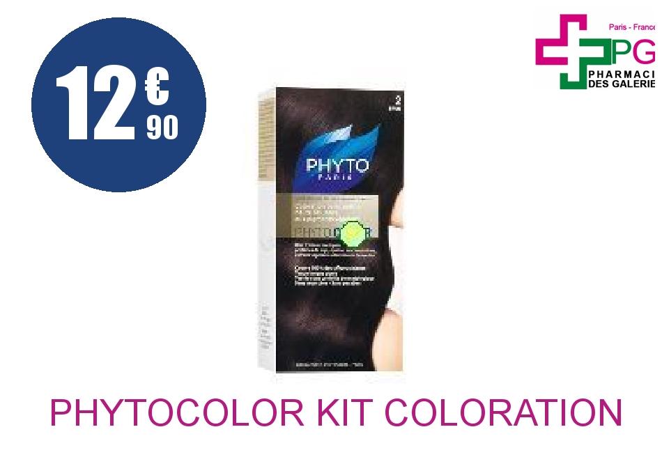 Achetez PHYTOCOLOR Kit coloration 2 Crème brun