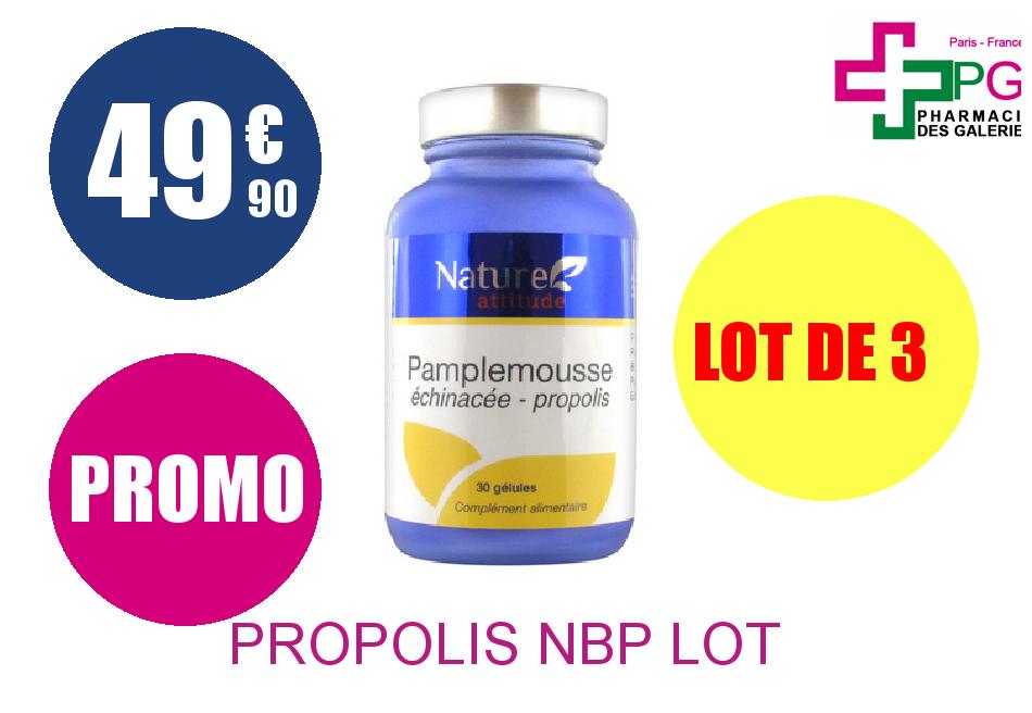 PROPOLIS NBP Lot de 3