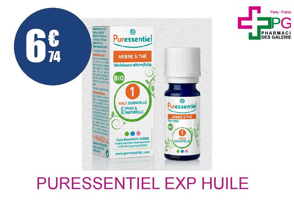 PURESSENTIEL EXP Huile Essentiel ARBRE A THE Flacon de 10ML