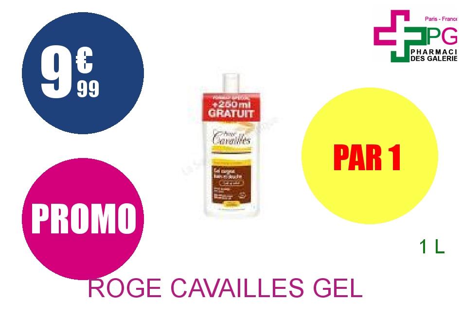 ROGE CAVAILLES Gel surgras bain douche Flacon de 1l