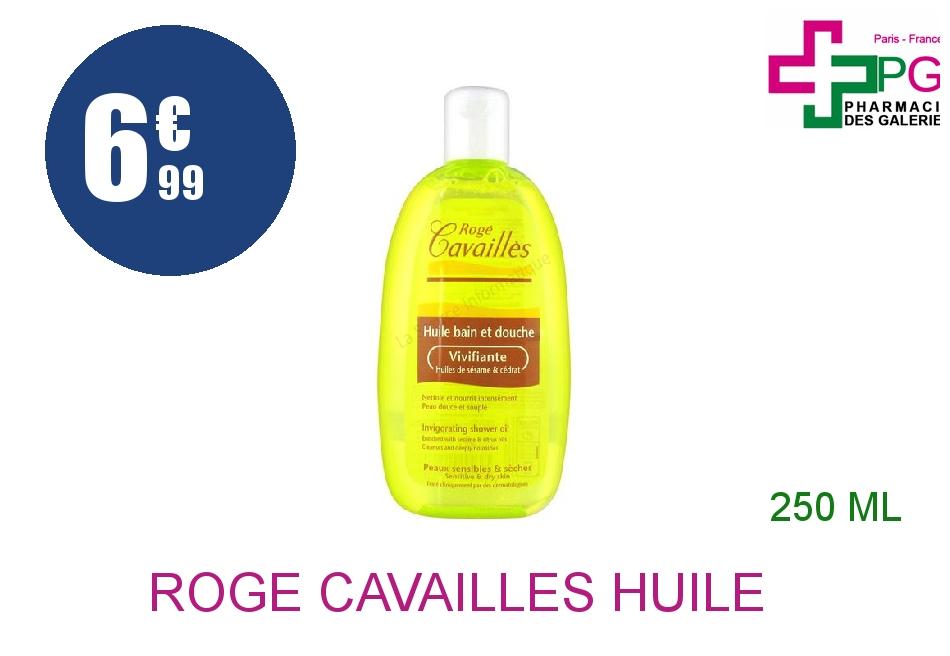 Achetez ROGE CAVAILLES Huile bain douche vivifiante Flacon de 250ml