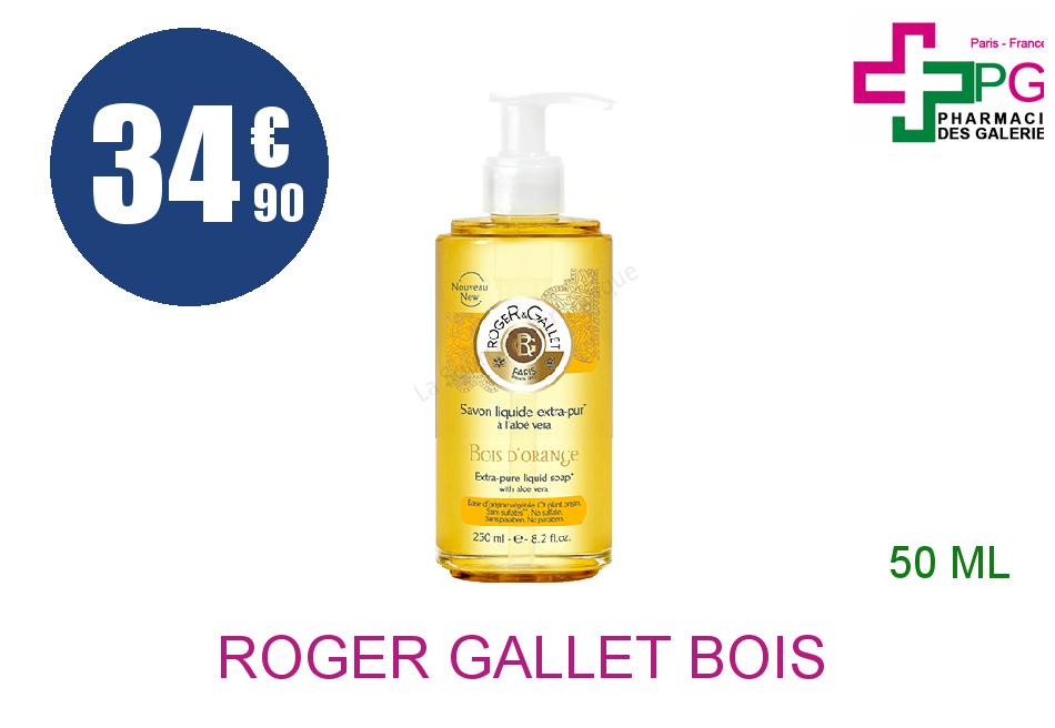 Achetez ROGER GALLET BOIS D'ORANGE Eau fraîche Vaporisateur de 50ml