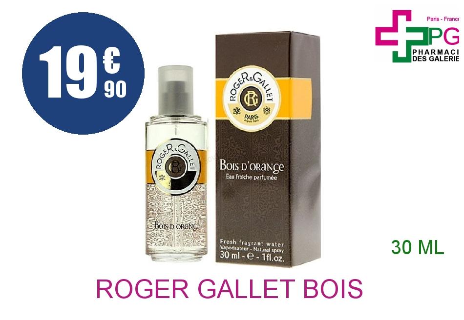 Achetez ROGER GALLET BOIS D'ORANGE Eau fraîche Vaporisateur de 30ml