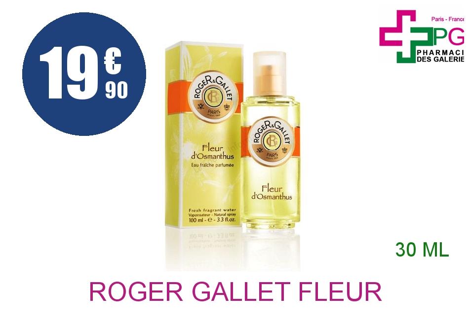 Achetez ROGER GALLET FLEUR D'OSMANTHUS Eau fraîche Vaporisateur de 30ml
