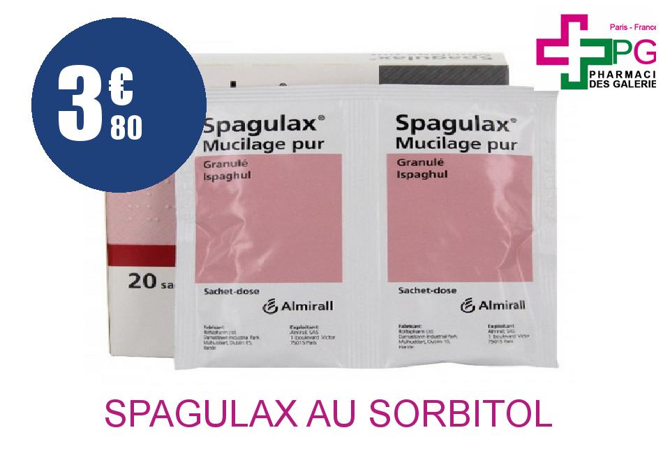 SPAGULAX AU SORBITOL GLE Sachet de 20