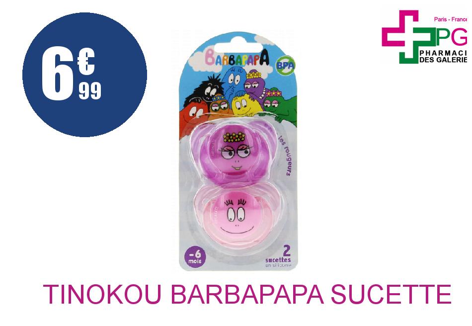 Achetez TINOKOU BARBAPAPA SUCETTE