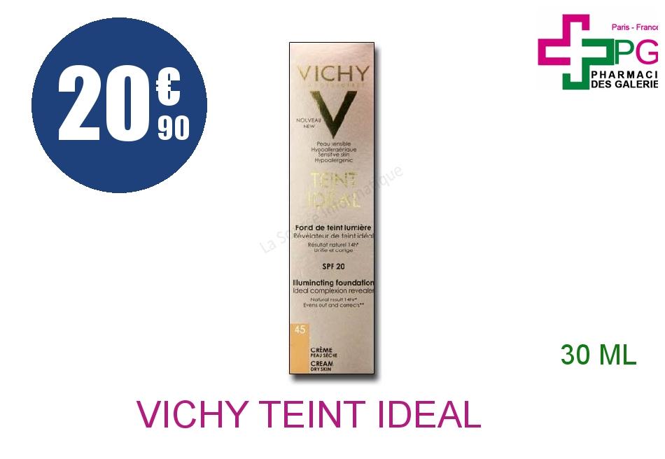 Achetez VICHY TEINT IDEAL Crème n°45 Tube de 30ml