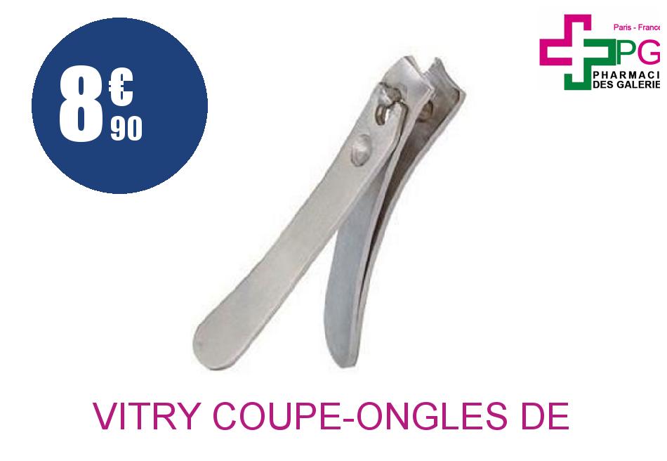 Achetez VITRY Coupe-ongles de Poche Inoxydable trempé