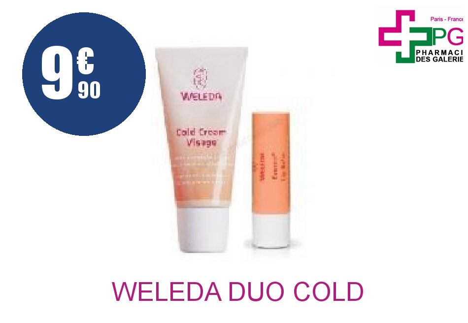Achetez WELEDA DUO COLD CREAM VISAGE + STICK