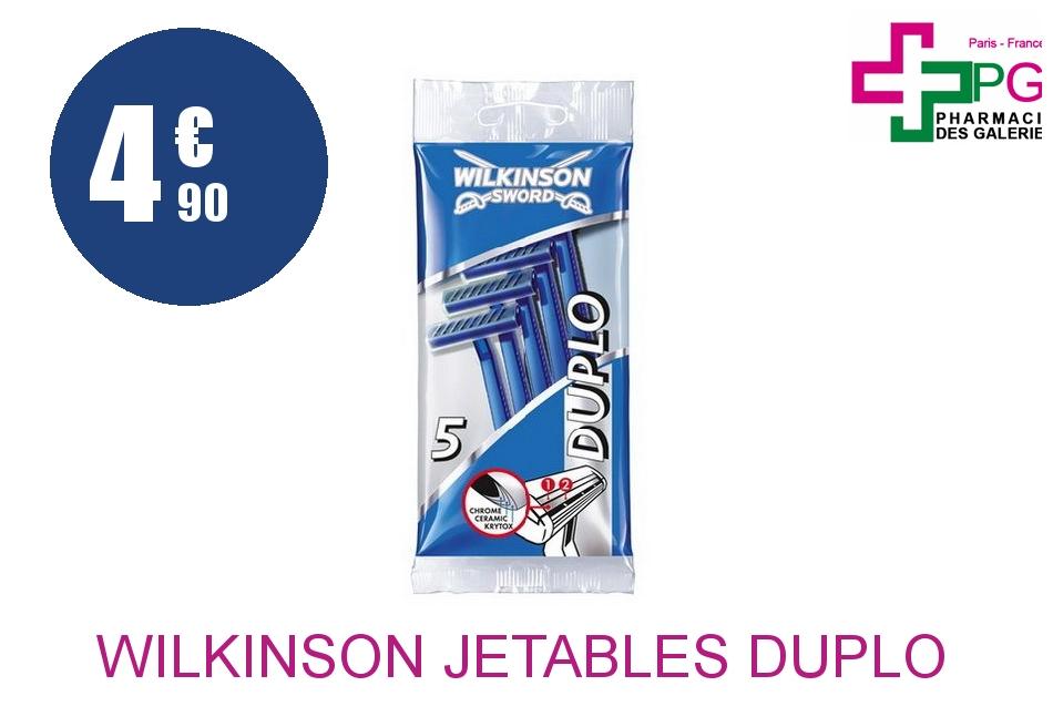 Achetez WILKINSON JETABLES DUPLO PAR 5